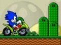 ATV Sonic in Mario World